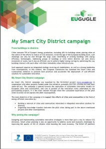 My Smart City District campaign