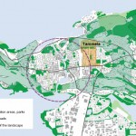 Tampere Tammela map red